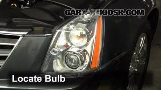 Highbeam (Brights) Change: 2006-2011 Cadillac DTS