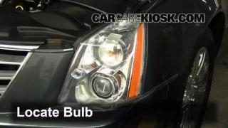 Parking Light Change 2006-2011 Cadillac DTS