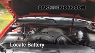 Battery Replacement: 2007-2013 Chevrolet Suburban 1500