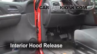 Open Hood How To 2007-2013 Chevrolet Avalanche