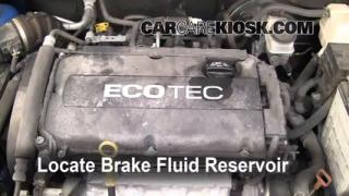 2004-2011 Chevrolet Aveo Brake Fluid Level Check