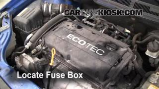 Blown Fuse Check 2004-2011 Chevrolet Aveo