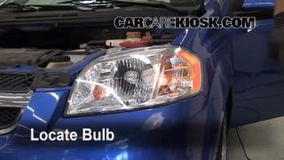 Highbeam (Brights) Change: 2004-2011 Chevrolet Aveo