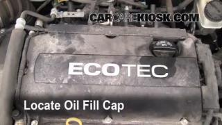 How to Add Oil Chevrolet Aveo (2004-2011)
