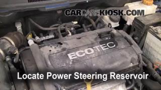 Follow These Steps to Add Power Steering Fluid to a Chevrolet Aveo (2004-2011)