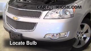 Highbeam (Brights) Change: 2009-2012 Chevrolet Traverse