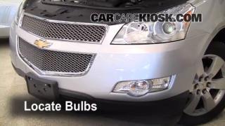 Parking Light Change 2009-2012 Chevrolet Traverse