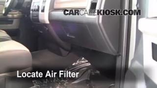 Cabin Filter Replacement: 2009-2010 Dodge Ram 1500