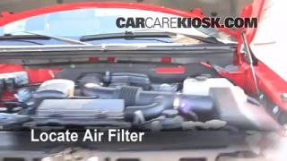 2009-2014 Ford F-150 Engine Air Filter Check