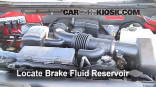 Add Brake Fluid: 2009-2013 Ford F-150