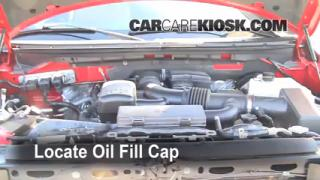 How to Add Oil Ford F-150 (2009-2013)