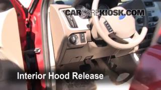 Open Hood How To 2008-2011 Ford Focus