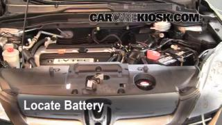 Battery Replacement: 2007-2011 Honda CR-V