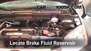 Add Brake Fluid: 2007-2011 Honda CR-V