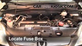 Blown Fuse Check 2007-2011 Honda CR-V