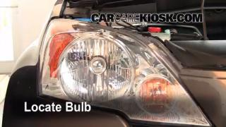 Headlight Change 2007-2011 Honda CR-V