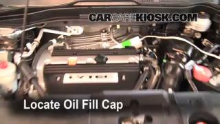 How to Add Oil Honda CR-V (2007-2011)
