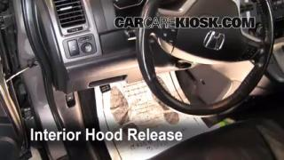 Open Hood How To 2007-2011 Honda CR-V