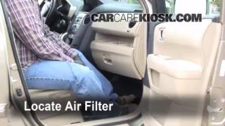 Cabin Filter Replacement: Honda Pilot 2009-2013