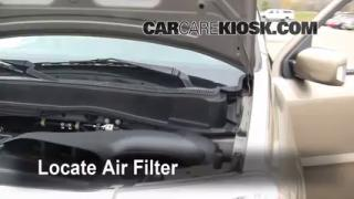 2009-2013 Honda Pilot Engine Air Filter Check