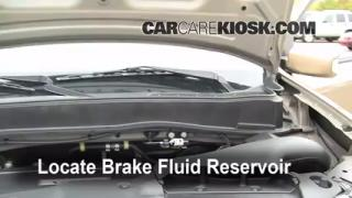 Add Brake Fluid: 2009-2013 Honda Pilot