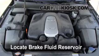 2009-2014 Hyundai Genesis Brake Fluid Level Check