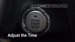 How to Set the Clock on a Hyundai Genesis (2009-2014)
