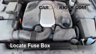Blown Fuse Check 2009-2012 Hyundai Genesis