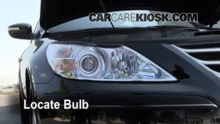 Headlight Change 2009-2012 Hyundai Genesis