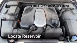 Check Windshield Washer Fluid Hyundai Genesis (2009-2012)