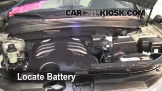 How to Clean Battery Corrosion: 2007-2012 Hyundai Santa Fe