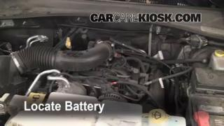 Battery Replacement: 2008-2012 Jeep Liberty