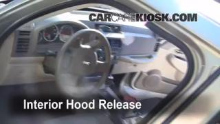 Open Hood How To 2008-2012 Jeep Liberty