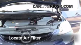 2006-2010 Mazda 5 Engine Air Filter Check
