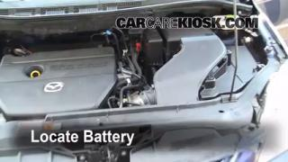 How to Clean Battery Corrosion: 2006-2010 Mazda 5