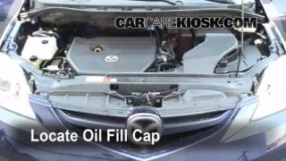 How to Add Oil Mazda 5 (2006-2010)
