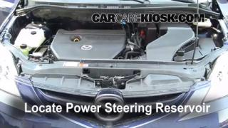 Follow These Steps to Add Power Steering Fluid to a Mazda 5 (2006-2010)