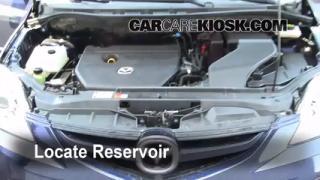 Check Windshield Washer Fluid Mazda 5 (2006-2010)