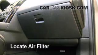 2007-2014 Mazda CX-9 Cabin Air Filter Check