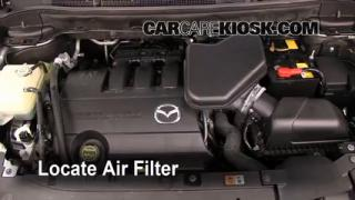2007-2014 Mazda CX-9 Engine Air Filter Check