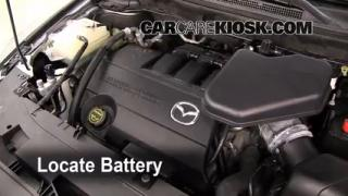 Battery Replacement: 2007-2014 Mazda CX-9