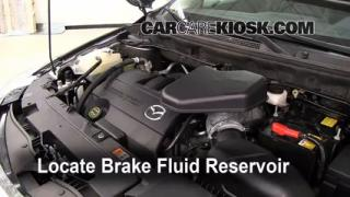 2007-2014 Mazda CX-9 Brake Fluid Level Check