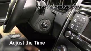 How to Set the Clock on a Mazda CX-9 (2007-2014)