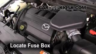 Replace a Fuse: 2007-2014 Mazda CX-9