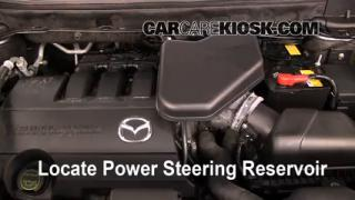 Check Power Steering Level Mazda CX-9 (2007-2014)