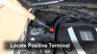 How to Jumpstart a 2008-2013 Mercedes-Benz C300