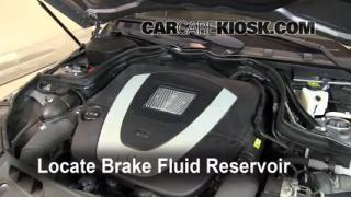 Add Brake Fluid: 2008-2013 Mercedes-Benz C300