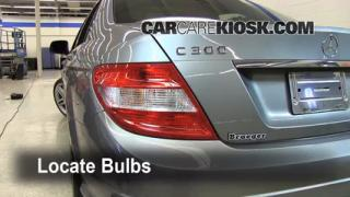 Brake Light Change 2008-2013 Mercedes-Benz C300