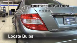 Tail Light Change 2008-2013 Mercedes-Benz C300