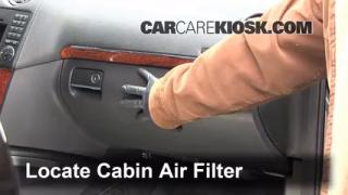 Cabin Filter Replacement: Dodge Nitro 2007-2011